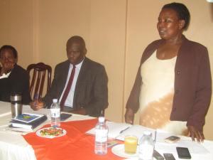 omubaka wa government e mubende Florence Beyunga